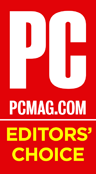 PC Mag<br /> Editors Choice