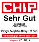 Festplatten Manager 15 - Preisgekrönte Backup- und Systemverwaltungslösung