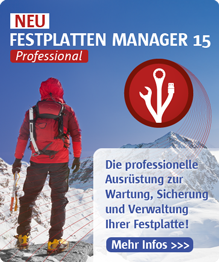 Festplatten Manager Professional