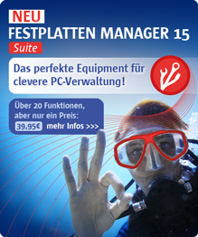 Paragon Festplatten Manager 15 Suite