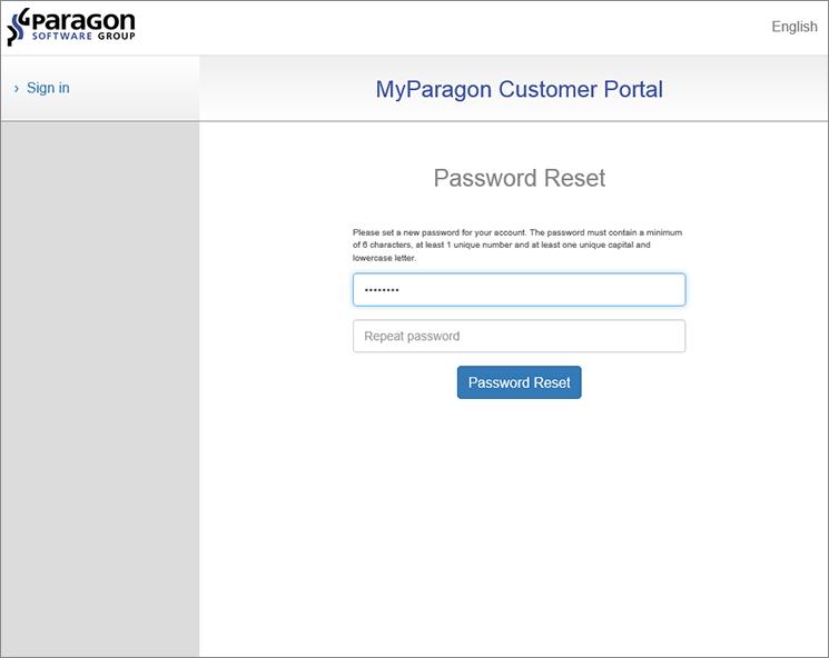 <b>Step 5:</b> Set your password.