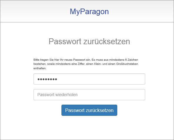 <b>Schritt 5:</b> Vergeben Sie ein neues Passwort. Dieses Passwort benötigen Sie um die Software zu aktivieren oder unsere Support-Services zu nutzen.