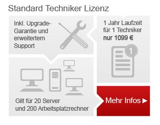Festplatten Manager Standard-Technikerlizenz