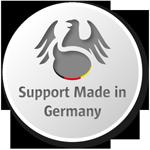 Support aus Deutschland