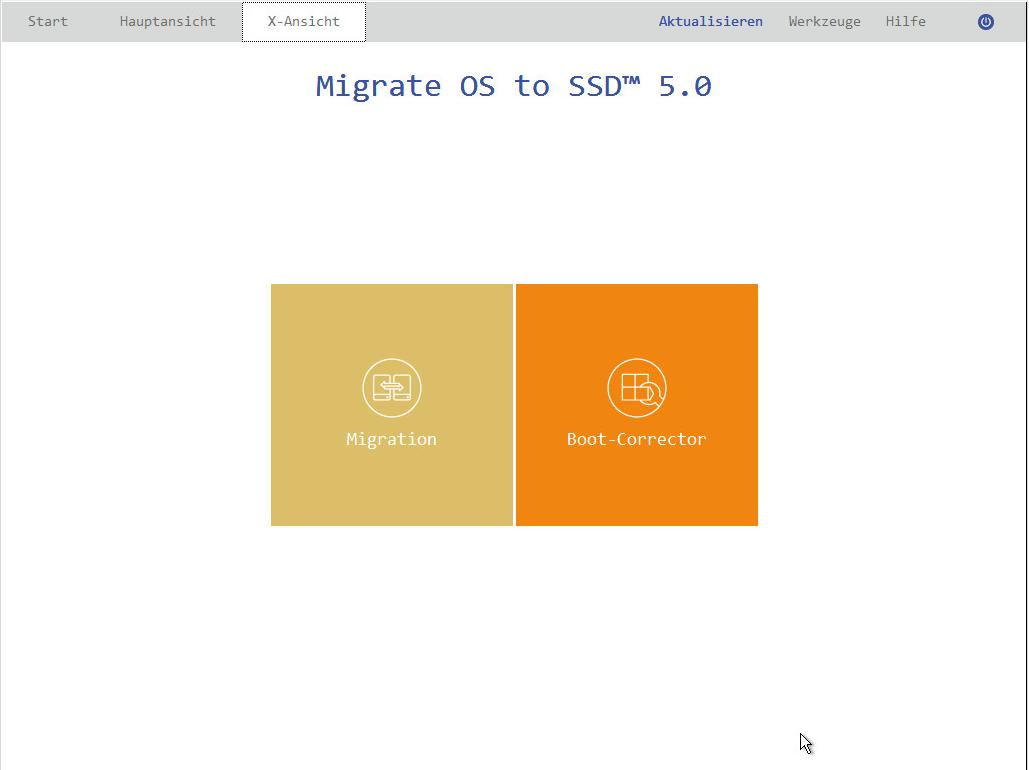 Erstellen Sie mit der Software ein bootfähiges WinPE-Rettungsmedium, das den Boot-Corrector enthält