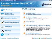 Paragon Festplatten Manager 12 Professional