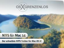 NTFS für Mac 14 - der schnellste NTFS-Treiber für Mac OS X