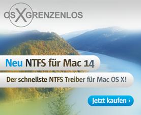 Paragon NTFS für Mac 14 - Der schnellste NTFS-Treiber für OS X El Capitan