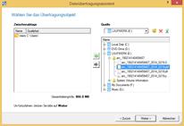 Asistente para transferencia de archivos