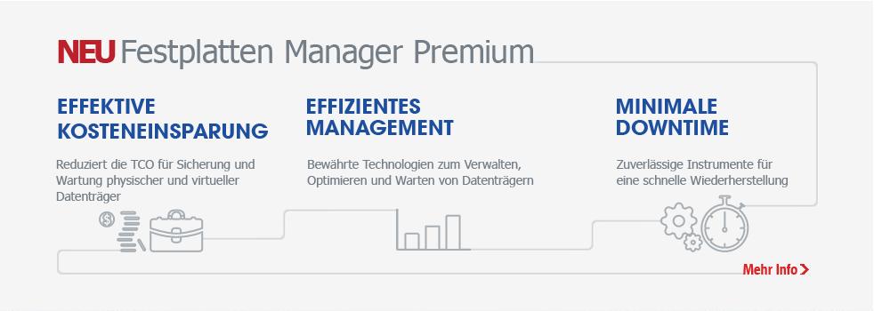 Festplatten Manager Premium