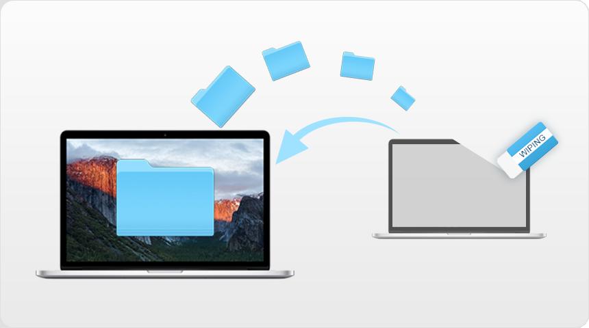 Миграция и затирание данных на Mac