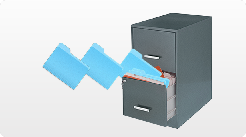 Восстановление файлов/папок из резервного архива