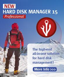 Hard Disk Manager Professional