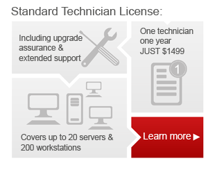 Hard Disk Manager Standard Technician License