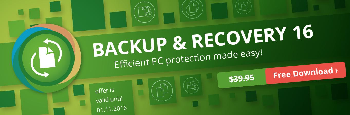 Easy backup & flexible restoration!