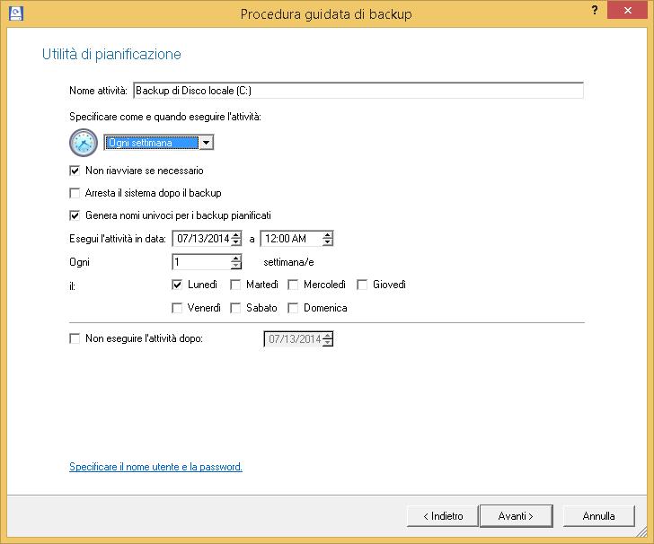 Backup recovery free edition panoramica for Software di pianificazione del garage