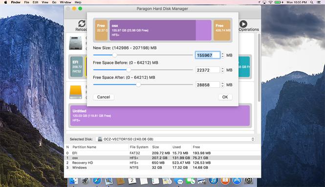 Paragon Mac Toolbox - Advanced Partitioning for Mac | Hard