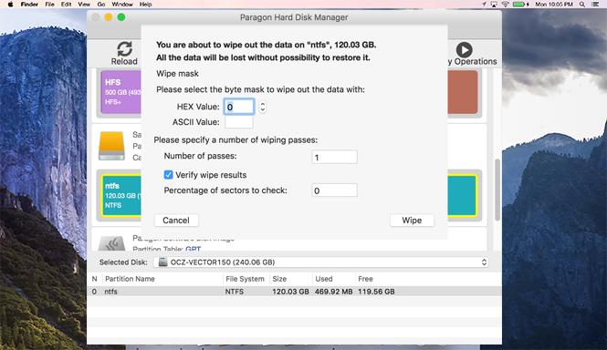 how to wipe mac hard drive