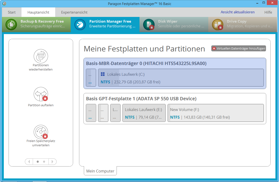 Paragon Partition Manager Free Paragon Software