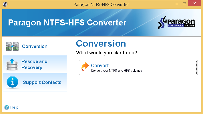 convert hfs to ntfs mac