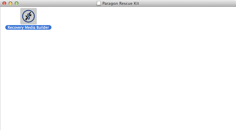 Paragon Rescue Kit for Mac OS X 14 Free - Overview