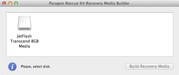 mac no bootable device paragon