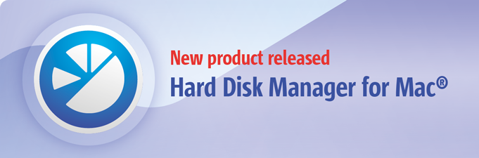 Hard Disk Manager for Mac リリース!