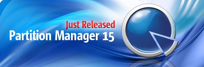 パーティショニングツールの最新版 Partition Manager 15 シリーズリリース!