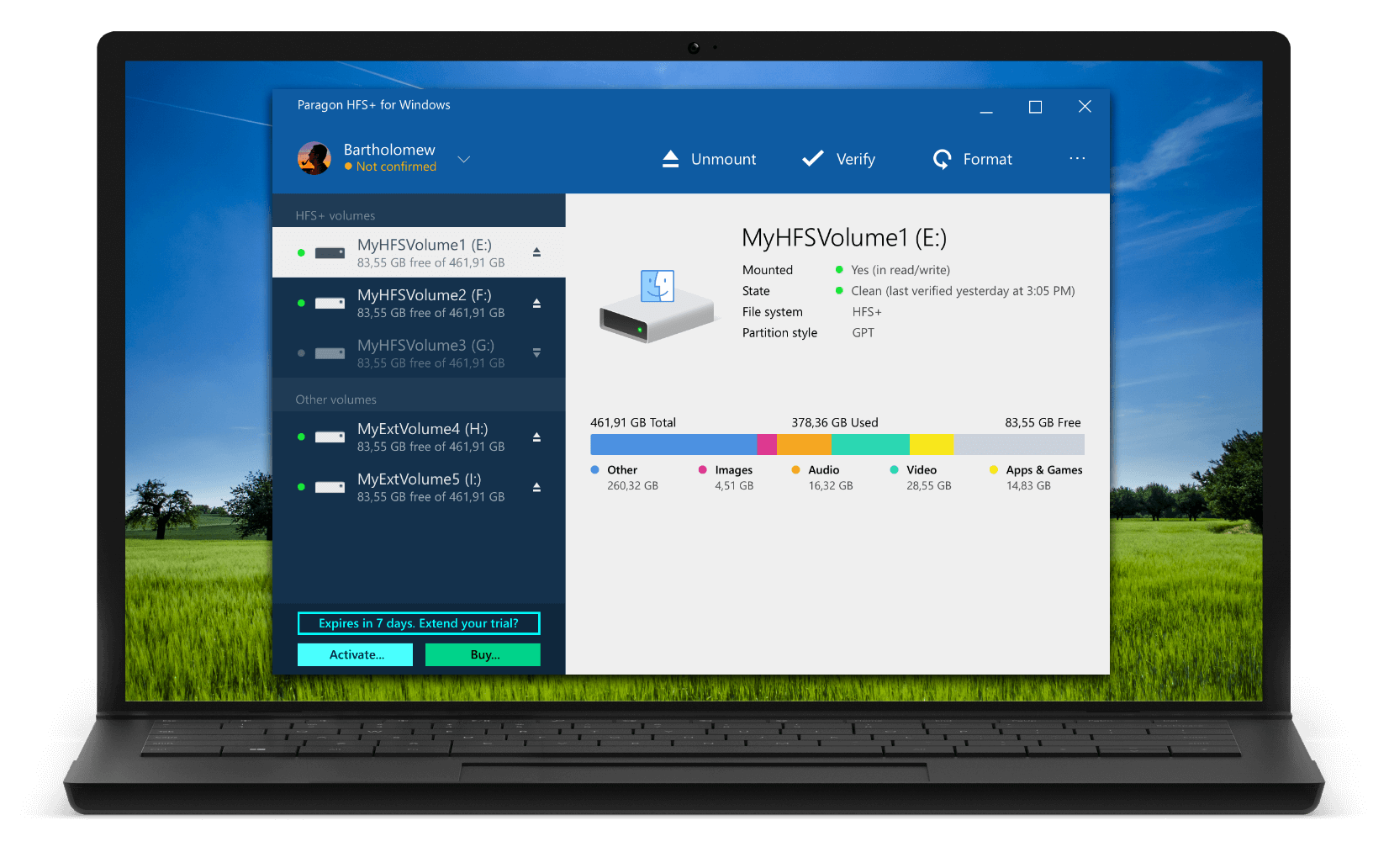 HFS+ for Windows by Paragon Software| Paragon Software