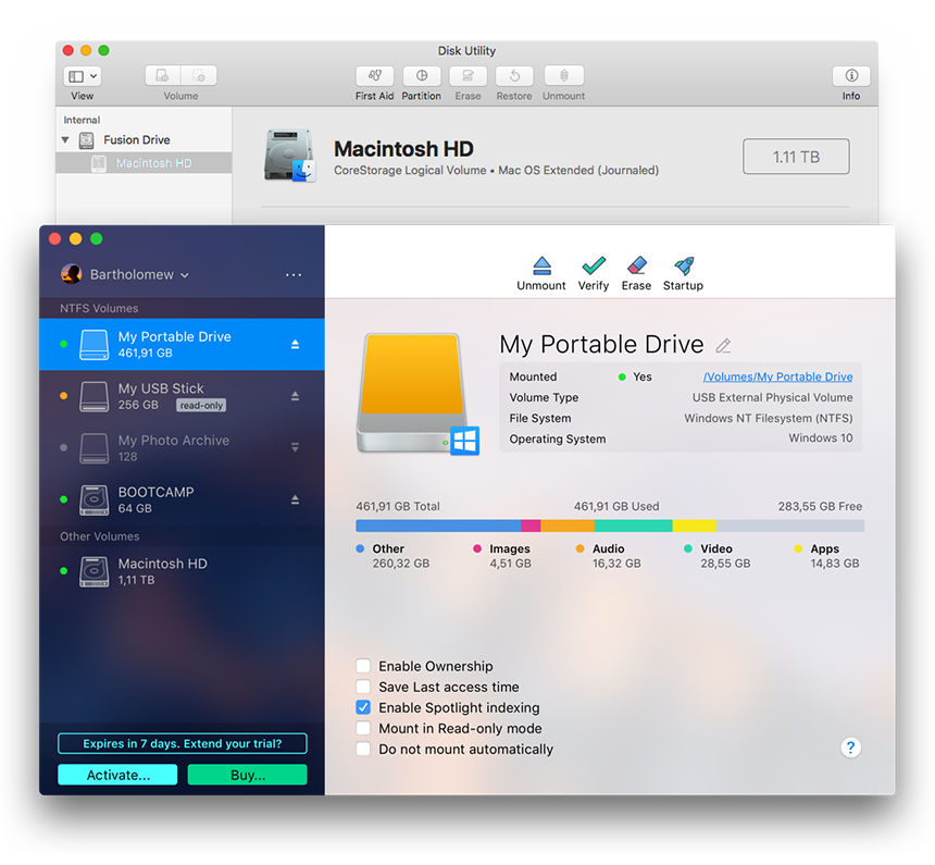 Microsoft NTFS for Mac | Paragon Software