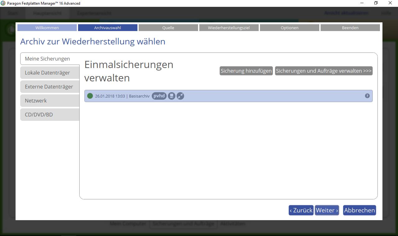 partition manager kostenlos deutsch