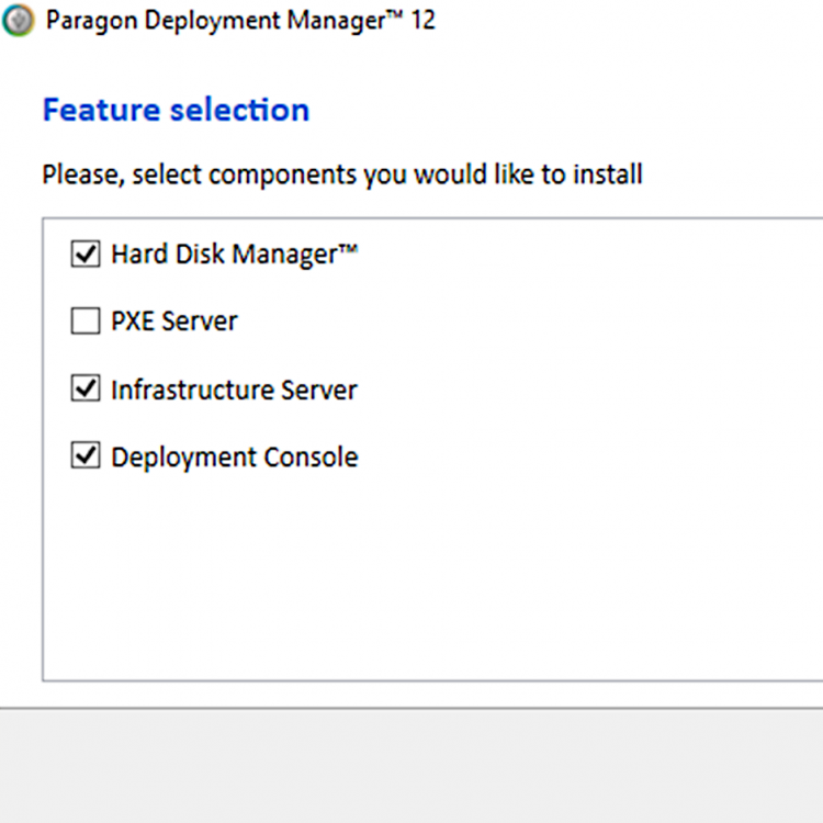 Deployment Manager   Paragon Software Group