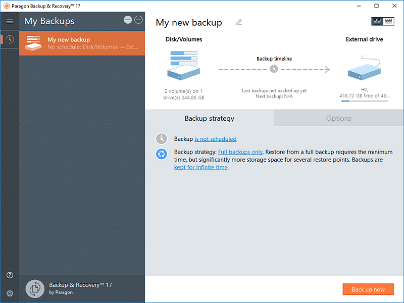 Paragon Backup & Recovery Free | Paragon Software