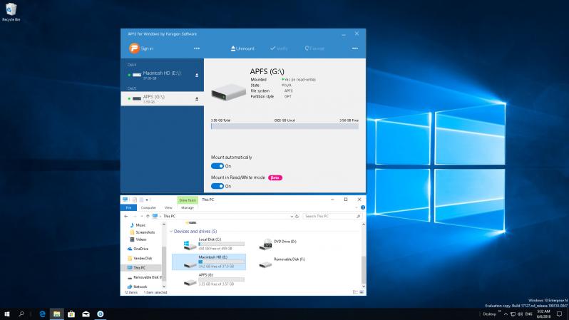 apfs for windows paragon software