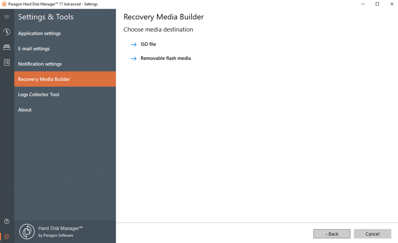 Backup & Recovery – Paragon Software Group