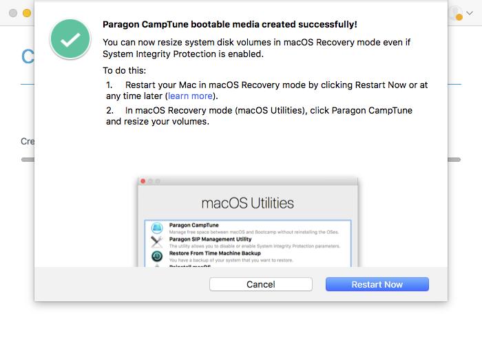 Paragon CampTune | Paragon Software
